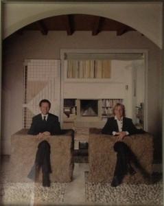 Simone Berti, Ritratto di Carla e Pippo, 2002-03 circa, Bergamo Collezione Traversi