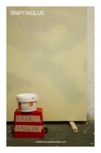 Erik Saglia SNIFFINGLUE solo show at Thomas Brambilla Gallery 2014 WEB