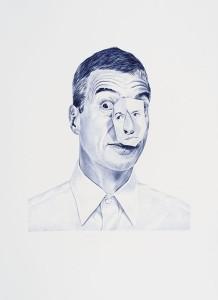 Giuseppe Stampone<br /> Bic Data Blue, 2013-2014<br /> 100 disegni a penna bic<br /> 40&#215;55 cm cad.<br /> Courtesy l&#039;artista e prometeogallery di Ida Pisani, Milano/Lucca<br /> Foto: Giorgio Benni&#8221; /></a> </p> <br><br><a href=