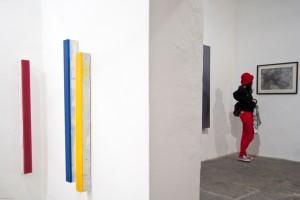 Installation view MATERIE EVANESCENTI: IVAN DE MENIS, ANTONIO MARCHETTI Photo © Lucas Joao Baccaro
